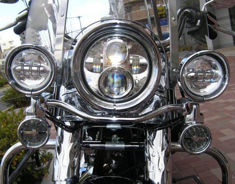 Harley Davidson  ヘッドライト、テイルライト、補助ライト、ウィンカー イメージ