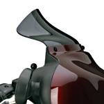 N27403:National cycle ウエーブ・ウインドスクリーン スモーク 133mm FLHT/FLHX
