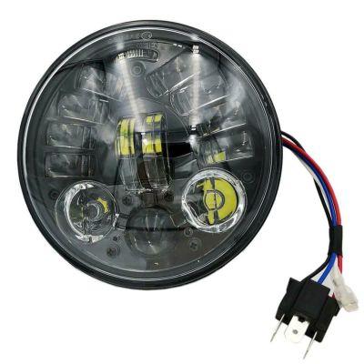 アダプティブ 5.75インチ LEDヘッドライト(ブラック)